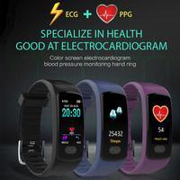 Electronics 2018 Bluetooth Smart Watch ECG+PPG Blood Pressure Heart Rate Sports Health Bracelet Aug9