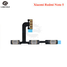 For Xiaomi Redmi Note 5/ Note 5 Pro Power Volume Side Key Button Flex Cable ON OFF Switch Flex Cable Replacement Repair Parts repair parts replacement left right button volume flex cable set for psp go black green