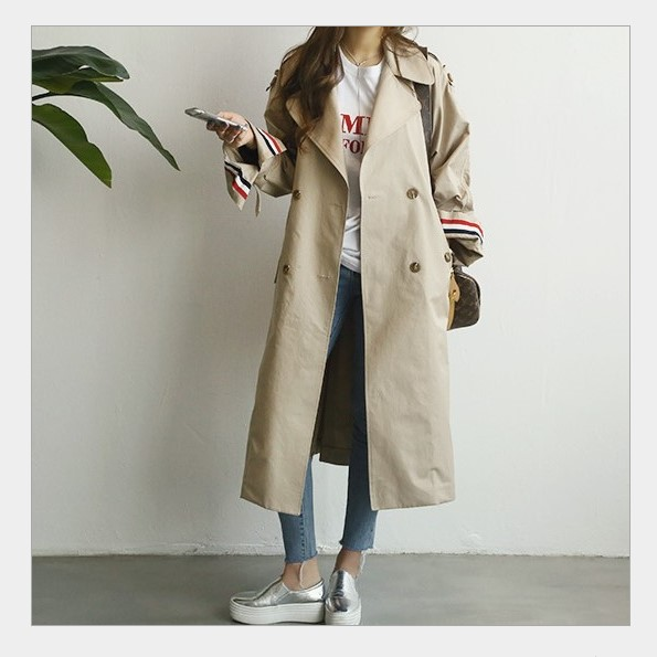4-New-Spring-Autumn-Fashion-Casual-Women-s-Loose-Khaki-Trench-Solid-Coat-Shoulder-Board-Long-Outerwear