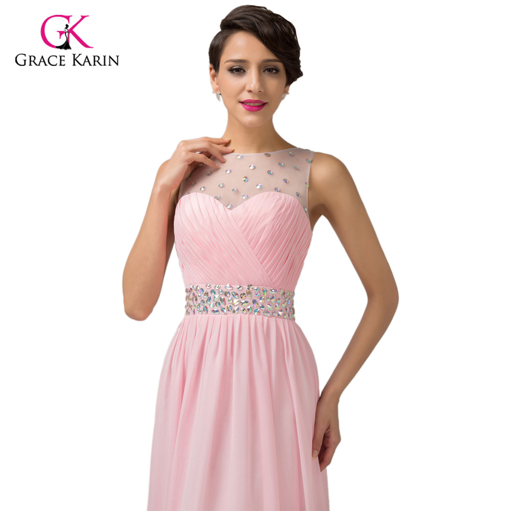 Aliexpress buy grace karin cheap pink purple bridesmaid aliexpress buy grace karin cheap pink purple bridesmaid dresses under 50 long backless designer wedding guest dress for bridemaid party 6112 from ombrellifo Images