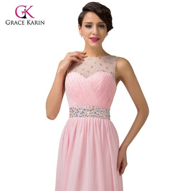 Tienda Online Grace Karin barato rosa púrpura Vestidos de dama de ...