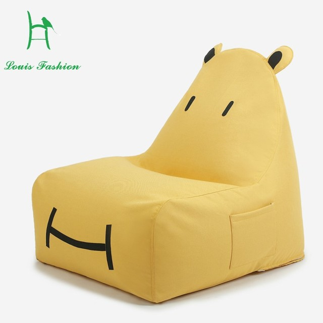 single lovely children cartoon art creative baby a beanbag chair bed rh aliexpress com lounge couch bed chair couch chair bed