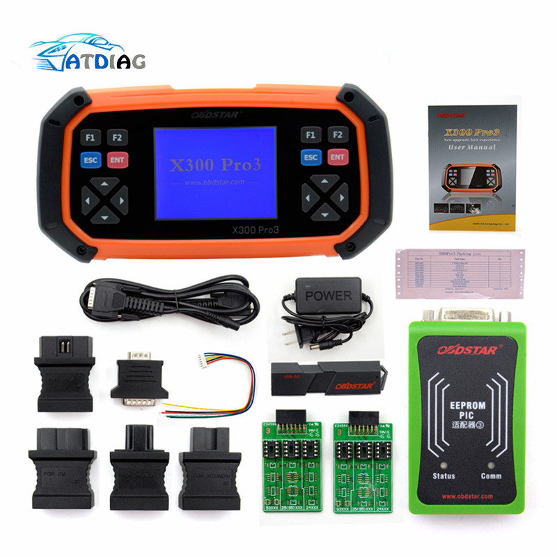 OBDSTAR X300 PRO3 Key Master Standard Configuration With Immobiliser Odometer EEPROM OBD X300 PRO3 Auto Key