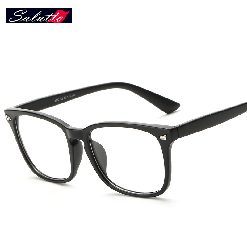 SALUTTO New Fashion Retro Ultralighteye Glasses Frames For Men And Women Nerd Prescription Eyewear Gafas