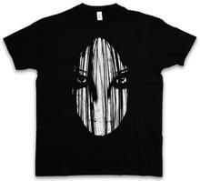 GHOST II T-SHIRT - The Japan Girl Horror Movie Ring Monster Creature Undead New Arrival Male Tees Casual Boy T Shirt Discounts(China)