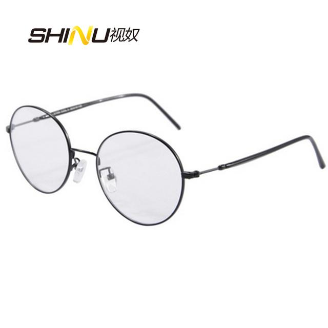 Harry potter gafas redondas de metal marcos de anteojos mujeres gafas hombres lente de prescripción de la vendimia 2766