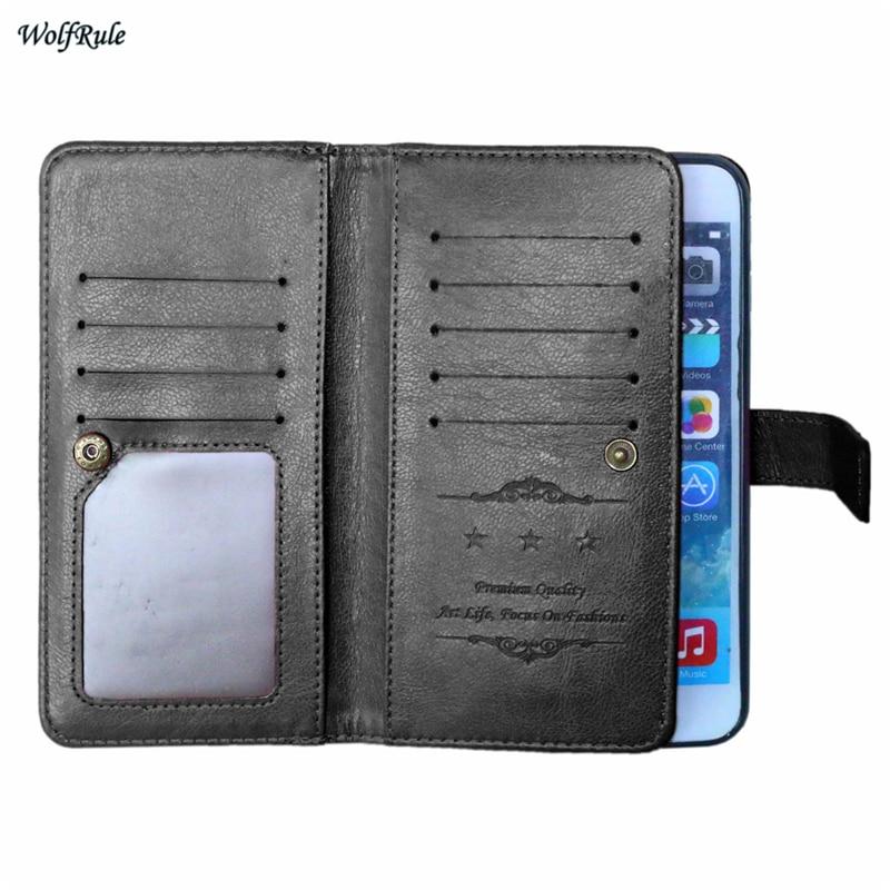 For Case Apple iphone 7 Plus Case Flip PU Leather +TPU Case For Apple iphone 7 Plus Cover Phone Wallet For iphone 7 Plus Bag