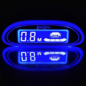 Image 2 - 자동차 자동 Parktronic LED 주차 센서 4 센서 역방향 백업 주차 레이더 모니터 자동차 부저 감지기 시스템 디스플레이