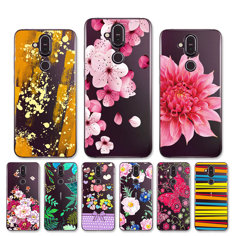 Soft <font><b>Case</b></font> For <font><b>Nokia</b></font> 7.1 Plus <font><b>Case</b></font> <font><b>Nokia</b></font> <font><b>8.1</b></font> Cover <font><b>Silicone</b></font> TPU Clear Phone Back Cover Shell For <font><b>Nokia</b></font> X7 Fundas 6.18