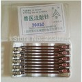 Hot Pill Case Medicine Box Hot 10pcs Stainless Steel Ss304 for Veterinary Syringe Needle Dispensing Needles 2.0x50mm