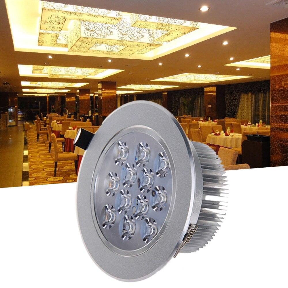 10 X Gu10 Ronde Chrome Beneden Licht Mains Downlight Spotlight Plafondlamp Super Heldere Voor Indoor