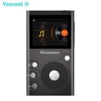 Yescool G6 8 기가바이트 하이파이 스테레오 무손실 휴대용 MP3 전문 음악 플레이어 TF 확장 오디오 전체 포맷 디코딩 워크