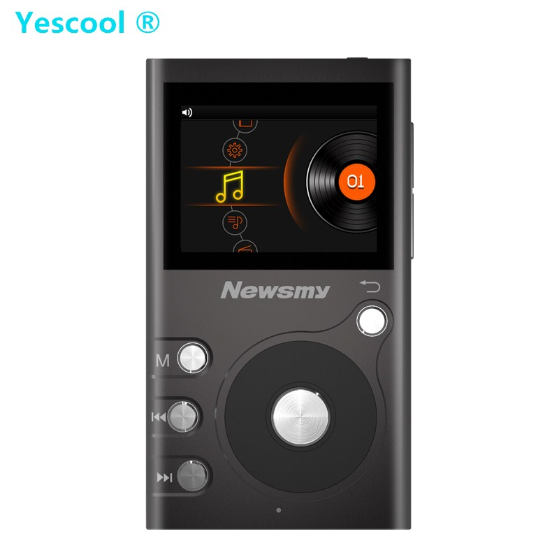 Yescool G6 8GB HIFI stereo Lossless Portable MP3 Professional music player TF expandable Audiophile Full format decoding Walkman музыка mp3 yescool mp3 music player lossless noise reduction обучение high definition screen card mp4 sports portable walkman 8gb x2 rose gold
