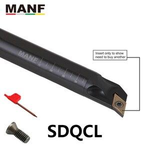 Image 2 - Манф 10 мм 12 16 мм S12M SDQCR07 токарные сталь токарные станки сверлильный станок баров небольшое отверстие обработки зажима внутренний расточные инструменты токарный инструмент