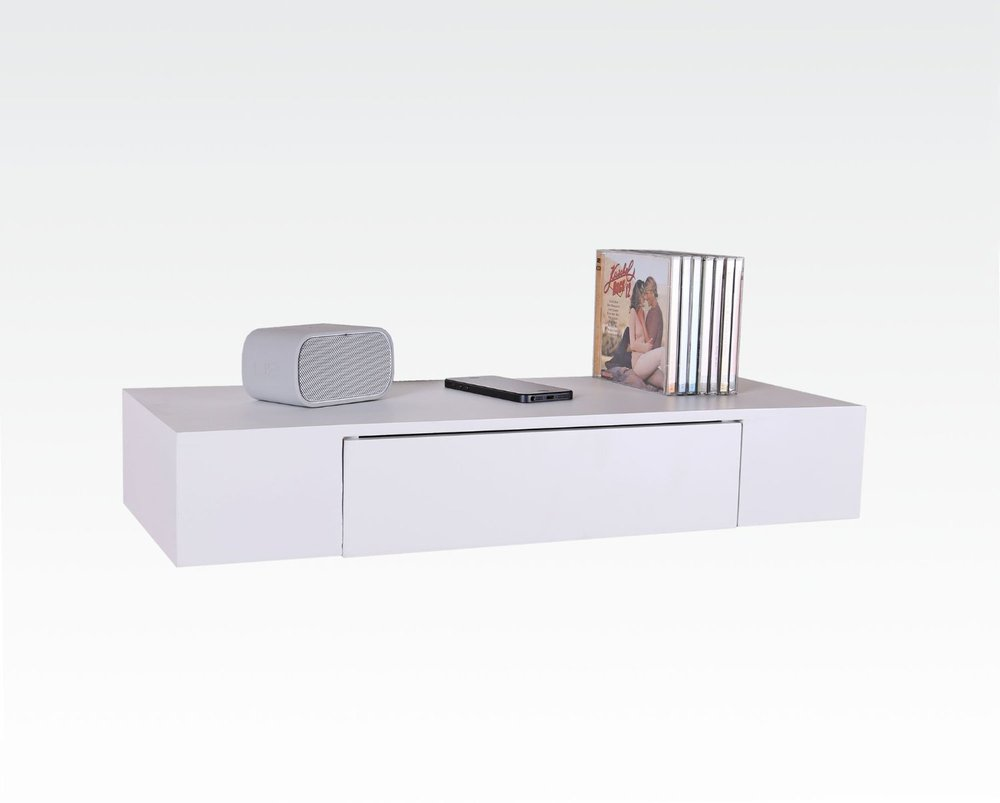 Decorative Wall Shelf With Drawer