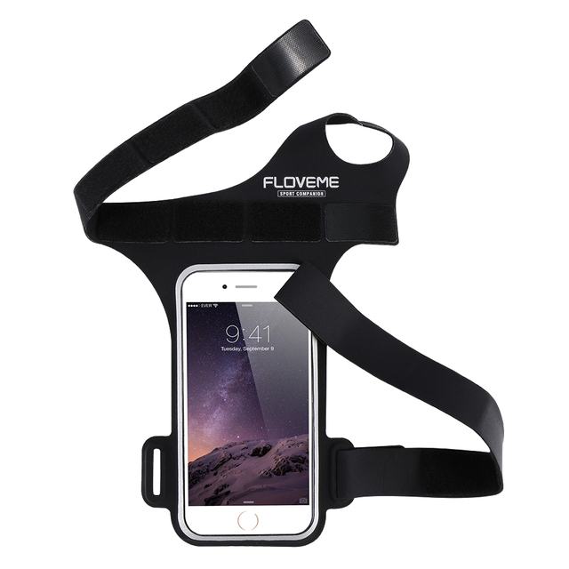 FLOVEME Sports Arm Band Gym Running Cover Case For Samsung Core Prime Galaxy A3 C3 / Sony Z3 Compact Z4 Mini Pouch Phone Capas