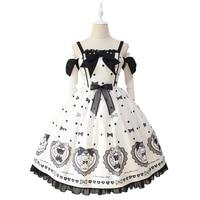 The Love of Sugar Bear ~ Sweet Off Shoulder Lolita JSK Dress by Alice Girl Pre order