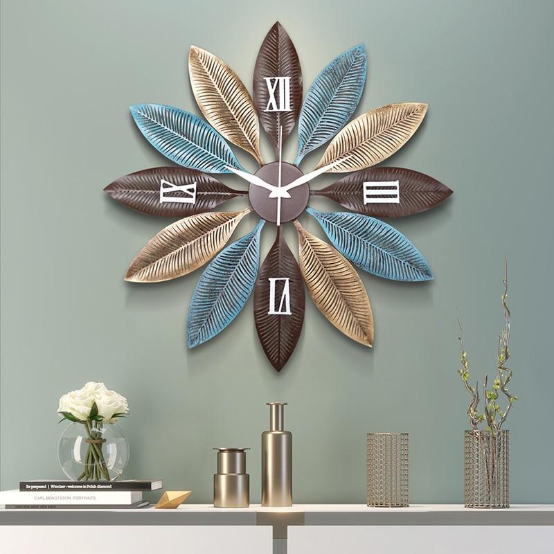 80cm Nordic Creative Wall Clock Modern Design Silent Clock Clock Home Decoration Quartz Clock Big Round Clock On The Wall