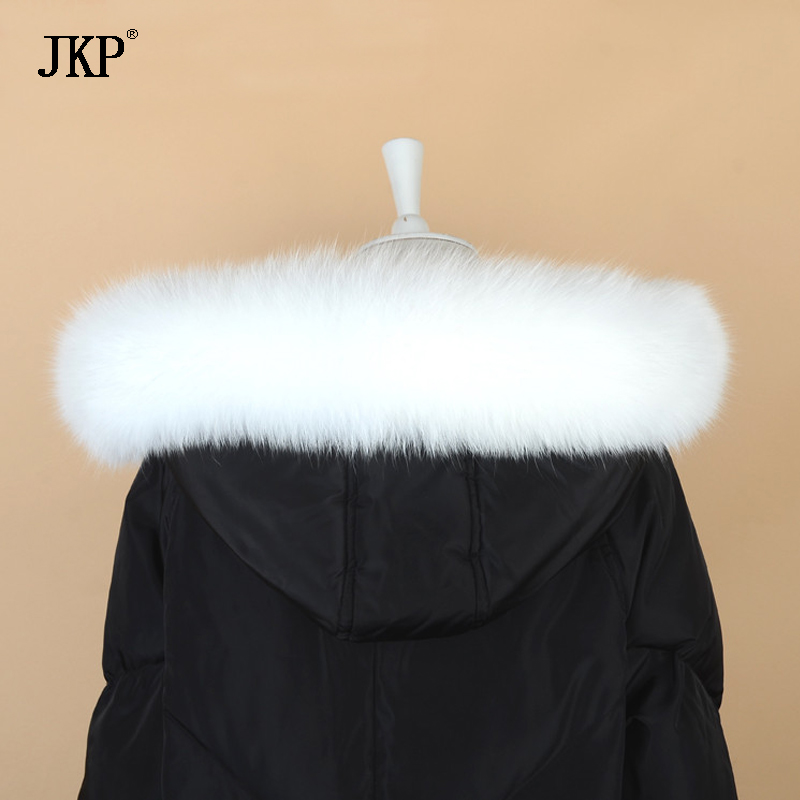 2018 New Hot Real Raccoon Fur Collar Ladies 100% Natural Fur Fur Shawl Collar Graycollar Real Raccoon Scraves Jkp1025