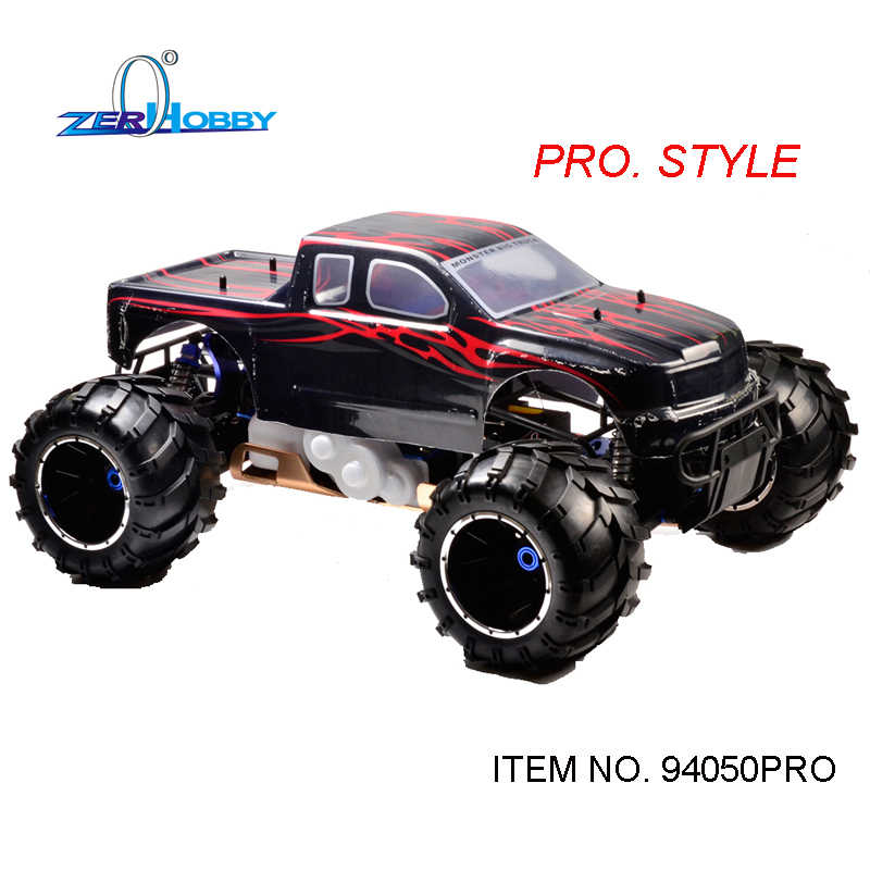 HSP Racing rc car esqueleto original 94050PRO1/5 escala enorme gasolina 4WD off road monster truck alta potencia 30/32CC motor
