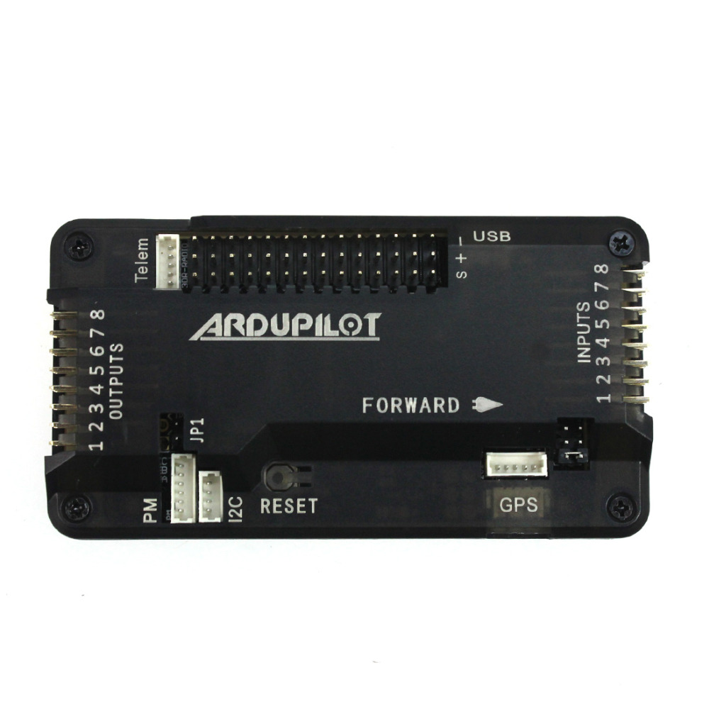 NEW APM2.8 APM 2.8 Upgrade2.5 2.6 version No / Build-in Compass Flight Controller Board Bent Pin with Case for DIY FPV RC Drone apm 2 6 flight controller board ardupilot mega 2 6 version with side pin connector for multicopter