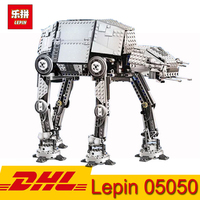 LEPIN 05050 Star War AT AT the Robot War Behemoth Building Blocks 1137pcs Bricks Funny Children Toy Gift Compatible LegoING