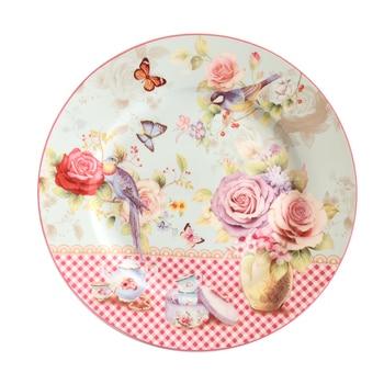 bone china pastry plate