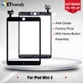 10 pçs/lote digitador da tela de toque de vidro digitador assembléia para ipad mini 3 com ic & ahensive etiqueta frete grátis por dhl um grau