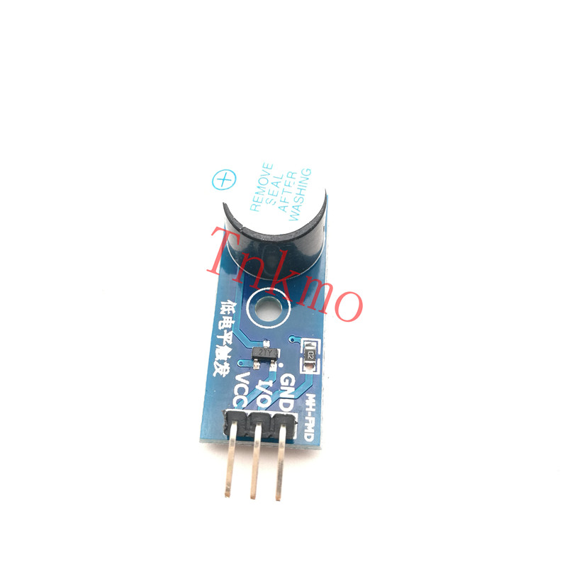1PCS High Quality Active Buzzer Module for Arduino New DIY Kit Active buzzer low level modules new dfrobot 100% genuine intermediate kit v2 for arduino modules
