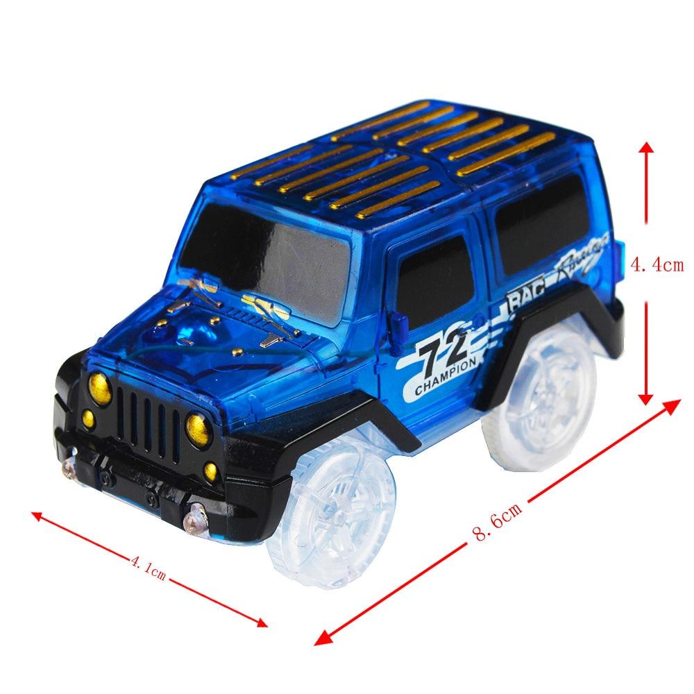 1Blue LED Car