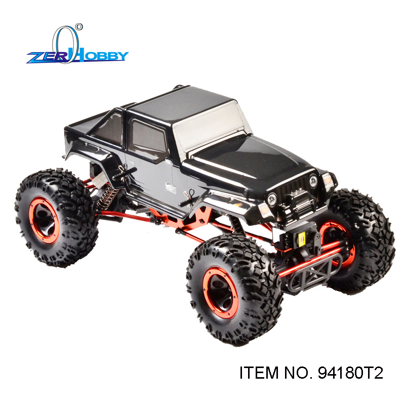 HSP HAMMER CLIMBER 4X4 RC CAR ROCK CRAWLER 1/10 ELECTRIC 4WD OFF ROAD CRAWLER FOUR WHEEL STEERING 94180 T2 hsp rc car 1 10 electric power remote control car 94601pro 4wd off road short course truck rtr similar redcat himoto racing