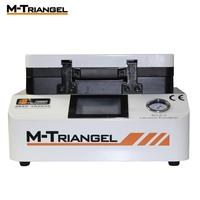 M Triangel 7 inch LCD Vacuum Laminating And Bubble Remover Machine OCA Automatic Flat Screen for Iphone Samsung Huawei