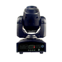 Newest Mini Spot 30W LED Moving Head Light With Gobos Plate Color Plate DMX512 High Brightness