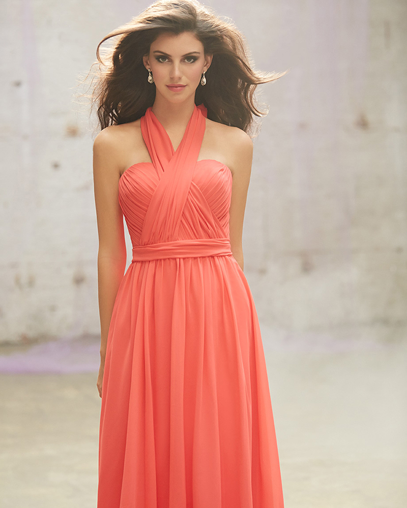 coral plus size bridesmaid dresses page 1 - bridesmaid dresses