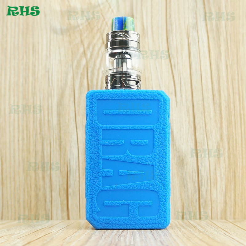 10pcs Wholesale New Products Silicone Case Cover for Electronic Cigarette Voopoo Drag 2 177W from China