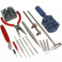 YCYS 16pc Watch Back Opener Repair Tool Kit Band Pin Strap Link Remover