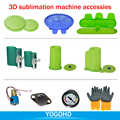 3D Stampante A Sublimazione Macchina Accessori Bottiglia Involucri Tazza di Gomma Morsetti Apparecchio di Pompa A Vuoto Stampato PCB Vuoto Del Silicone Copriletto