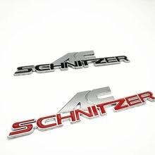 цена на Car Sticker Emblem Badge Auto Metal Decal For BMW AC SCHNITZER M M3 M5 E34 E36 E60 E90 E46 E39 X3 X5 Car Styling