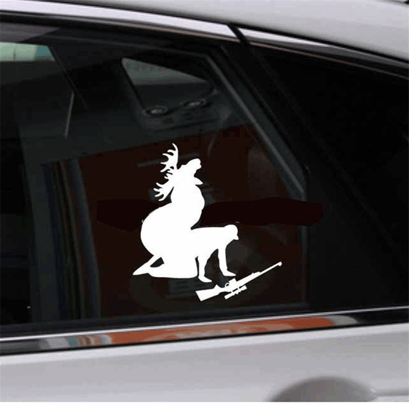 High quality personalized bumper stickers like ya like my meat now funny moose hunting hunter