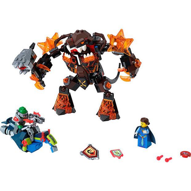 CHINA BRAND bricks toy DIY Building Blocks Compatible with Lego Nexo Knights - 70325 Infernox Captures the Queen lepin 14011 nexoe knights nfernox captures the queen model building kits aaron minifigures blocks bricks compatible with lego