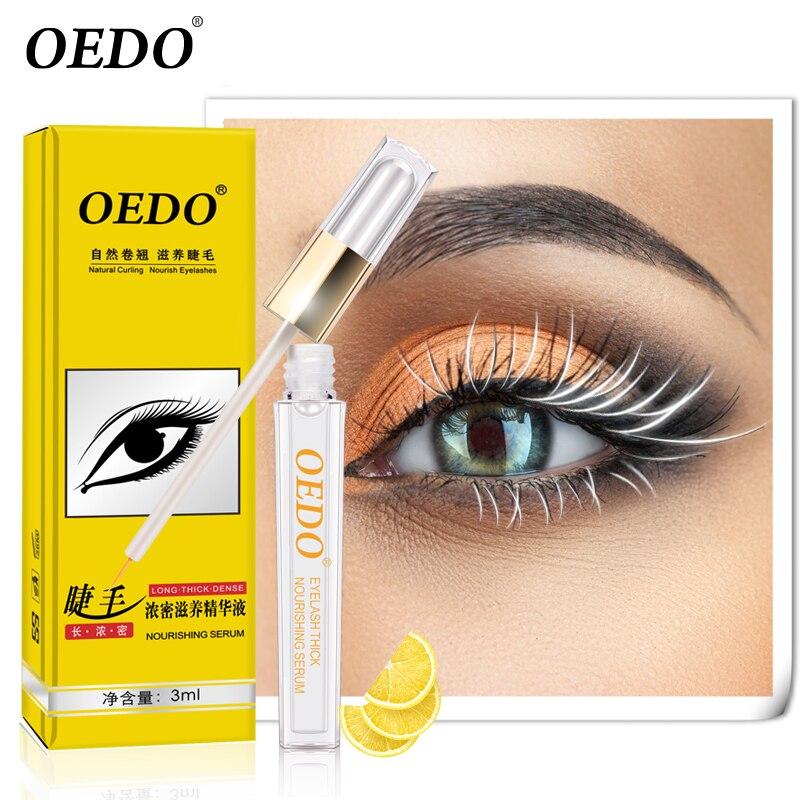 OEDO 3D Eyelash Growth Eye Serum Treatment Eyelash Enhancer Longer Fuller Thicker Lashes Eyelashes & Eyebrows Enhancer Eye Care