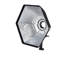 Selens photographic Softbox 50cm Hexagon Softbox with L-Shape Adapter Ring Photo Studio Accessories