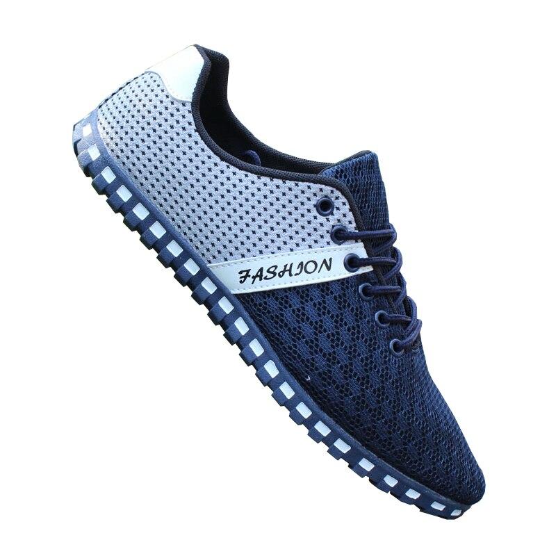 Nouveaux Occasionnels D'été Chaussures Mode De 4 Plat 3 Toile 5 Pour 2 1 Hommes Marque Mâle 2016 Mens Maille ERqBwdE