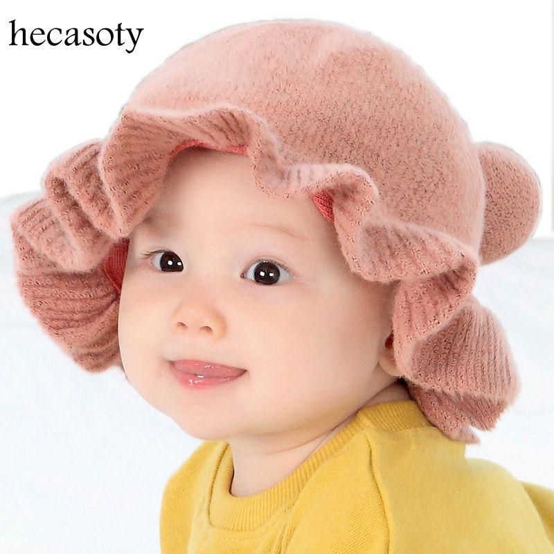 Mother & Kids Hats & Caps Hearty Baby Hats Infant Autumn Winter Outdoor Visor Hat Boy Girl Windproof Warm Fisherman Cap Baby Caps Newborn Soild Beach Bucket Hats