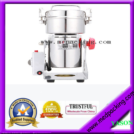 250g electric grinder mill 250 grams small powder machine superfine grinding machince hand cranked kitchen twisting vegetable fruit meat chopper blender tool green