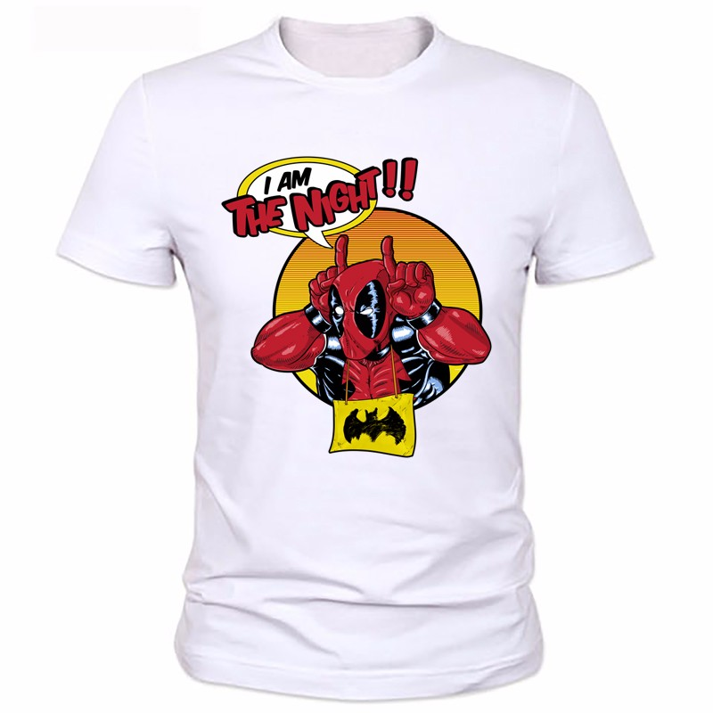 Detail Feedback Questions About 2018 Men Funny Superhero Printed T