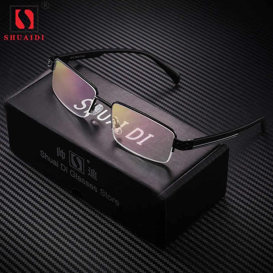 2916b85a8be Men Women Alloy Half Frame Resin Lenses Reading Glasses Anti Fatigue Eyewear  Presbyopic Eyeglasses +1