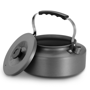 Image 3 - 1.6L Portable Kettle Water Pot Teapot Coffee Pot Indoor Whistling Aluminum Alloy Tea Kettle Outdoor Camping Hiking Picnic Pot