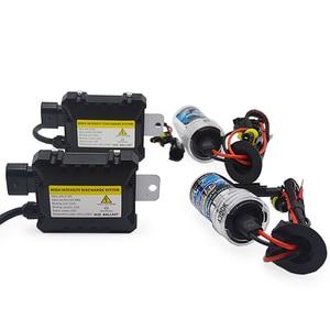 Image 4 - TPTOB 35W 55W kit alimentatore sottile HID lampadina allo Xeno 12V H1 H3 H7 H11 9005 9006 4300k 6000k 8000k lampada faro Xeno automatica