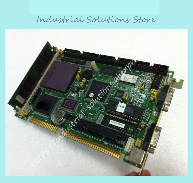 PCA-6145 PCA-6145B/45L Industrial Board Status Spark Machine Motherboard 486 Long Card not with RAM and CPU pca 6186 b1 industrial motherboard pca 6186ve only board not include cpu 100% tested perfect quality